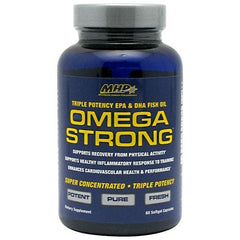 MHP Omega Strong - 60 Capsules - 666222091990
