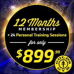 Gold's Gym $899.99 Promo