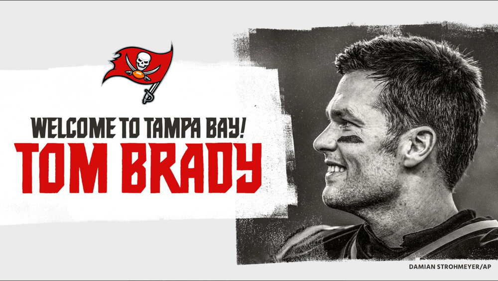Tom Brady Makes It Official, Signs With Buccaneers