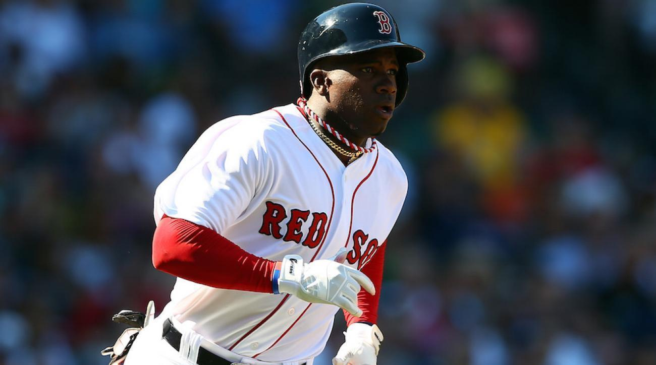 The Red Sox could use Rusney Castillo right about now