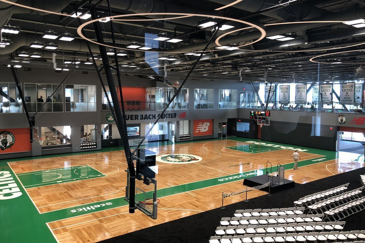 The Celtics got a sweet new practice facility