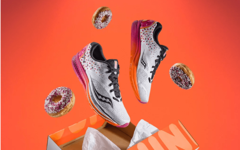 Dunkin' Donuts Running Shoes Are Here Just In Time For The Marathon