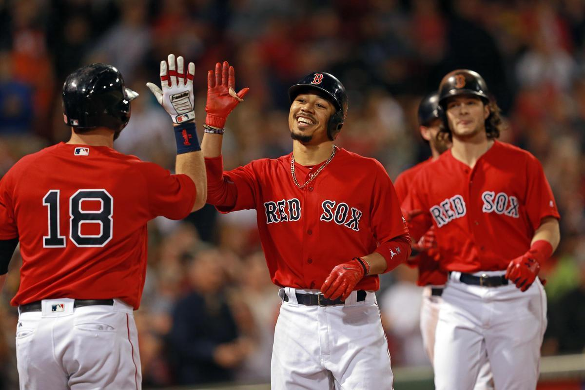 Enjoy this Red Sox team. They're special