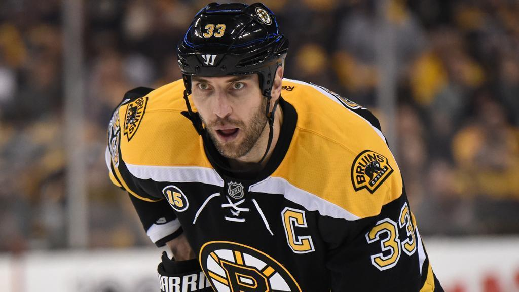 Chara defying age for the Bruins