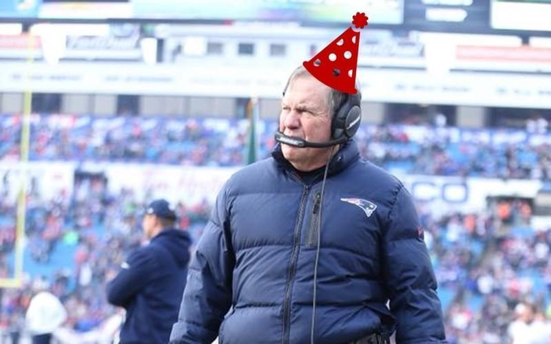 8 Items Every Pats Fan Needs To Celebrate Bill Belichick's Birthday