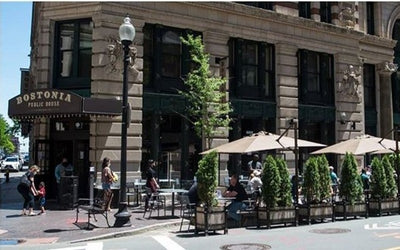 Enjoy A Safe, Socially Distanced Meal At Bostonia Public House