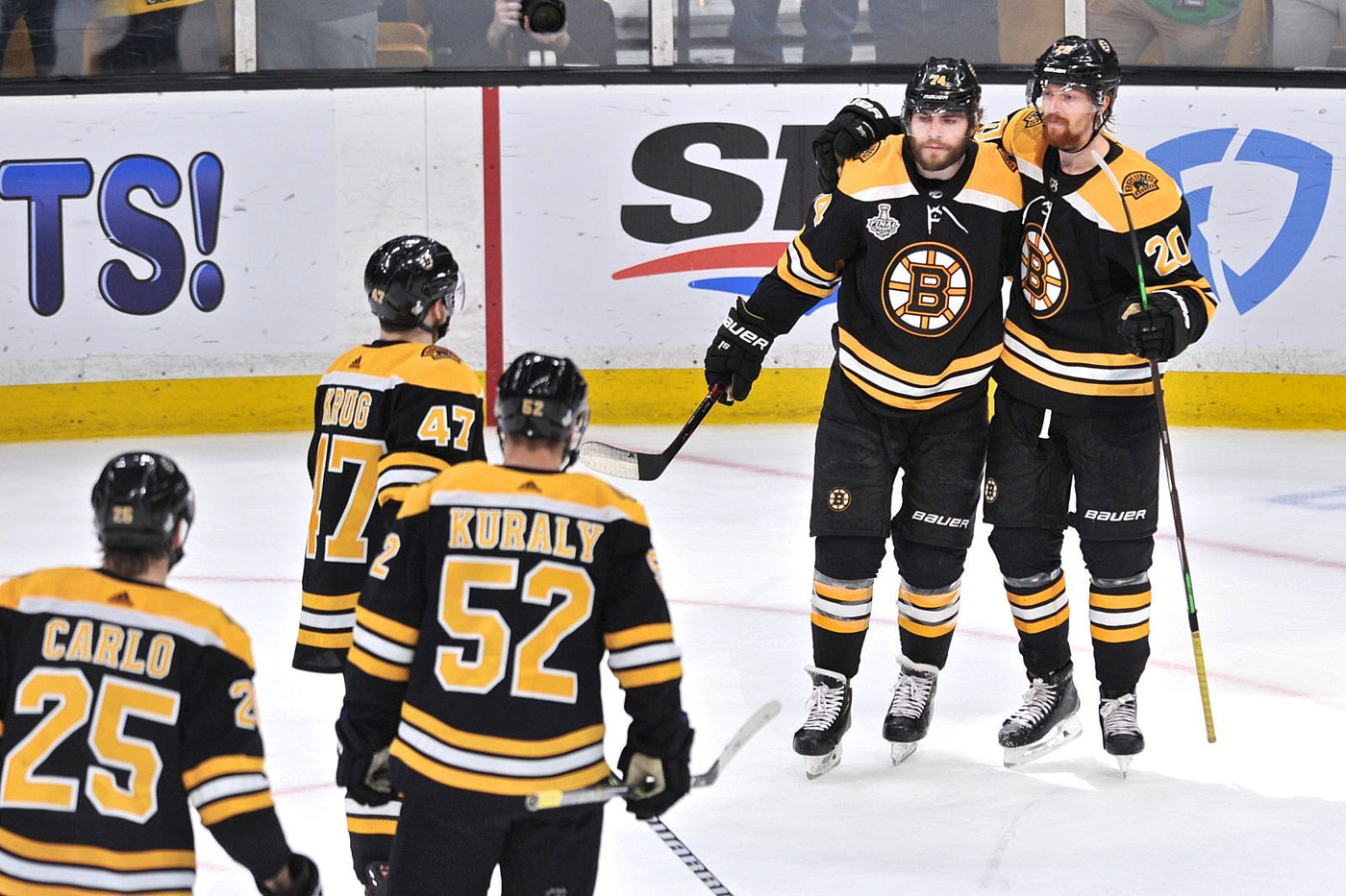 The Athletic tries RIPPING the Bruins