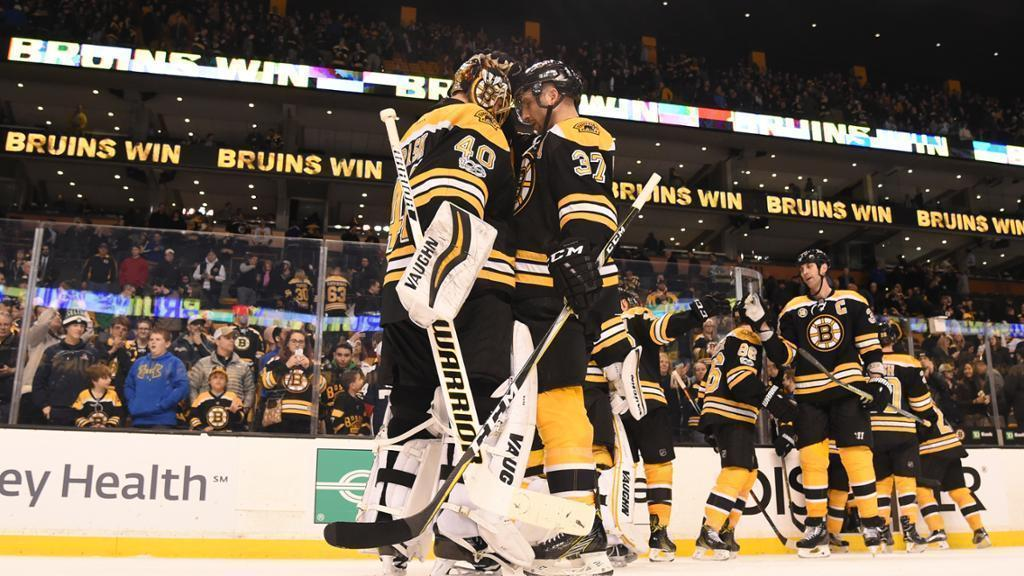 It was one game, Bruins fans!