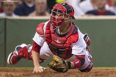 Red Sox will carry three catchers in the playoffs