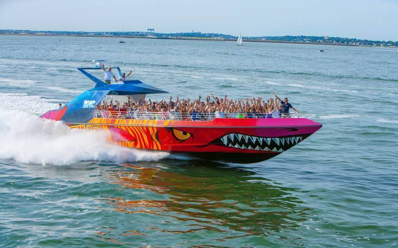 Codzilla: A Boston Boat Tour With A High-Speed Twist