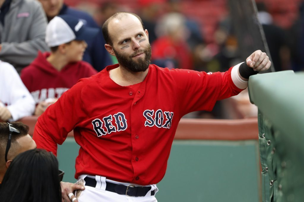 Dustin Pedroia says he's feeling great