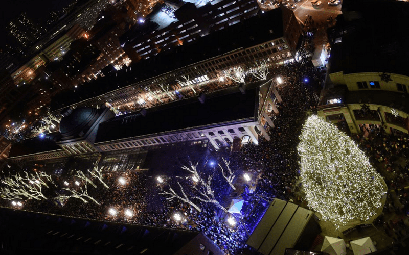 5 Boston Tree Lightings To Awaken Your Holiday Spirit