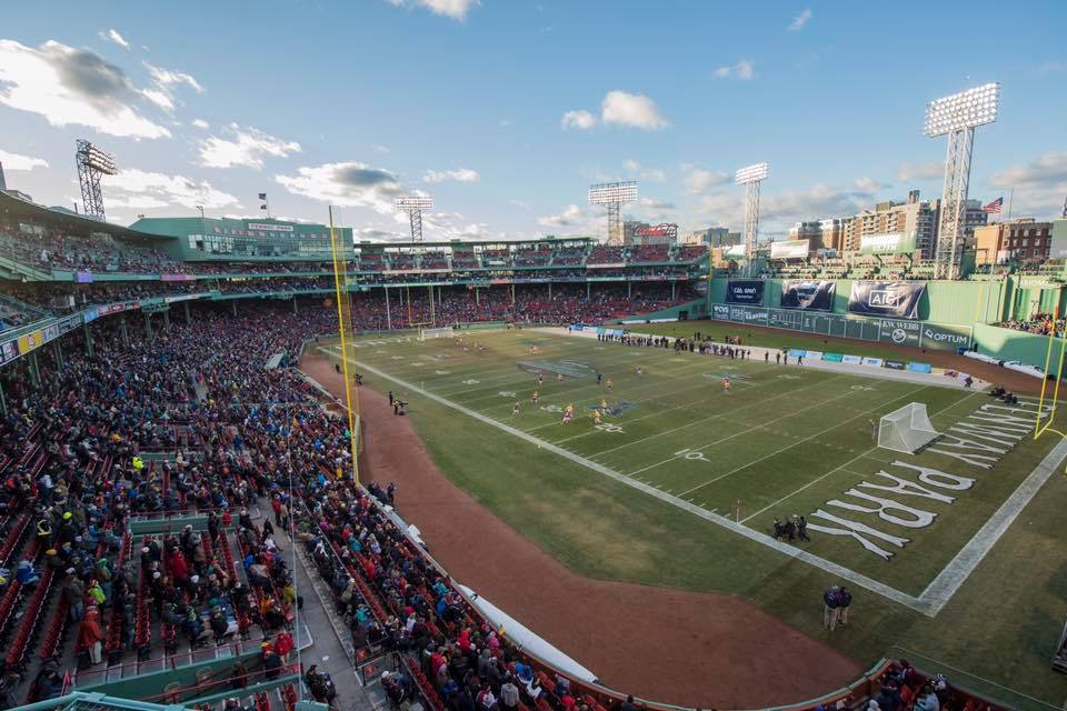 The Fenway Park college football bowl game got a name