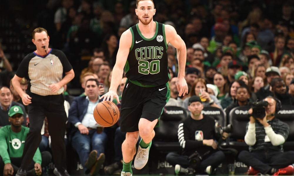 Gordon Hayward had the best diet when rehabbing his ankle injury