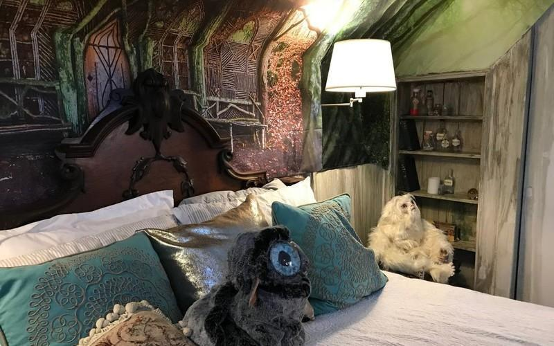 Hide Away At This Harry Potter Themed AirBNB in Salem