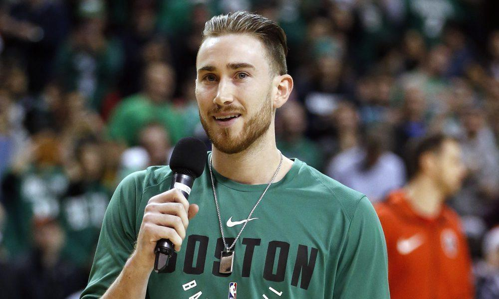Gordon Hayward is a blogger now too