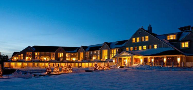 A Holiday Stay At This Oceanfront Maine Resort Benefits Local Children In Need