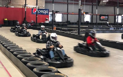 Head To Western MA For Indoor Go-Karting & Axe Throwing