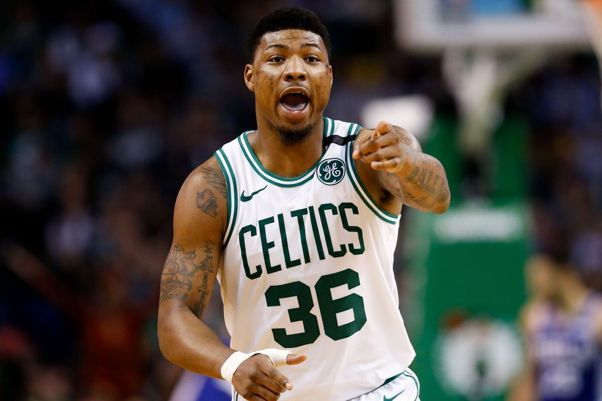 Marcus Smart receives prestigious Red Auerbach Award