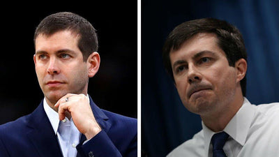 Mayor Pete dresses as Coach Brad for Halloween