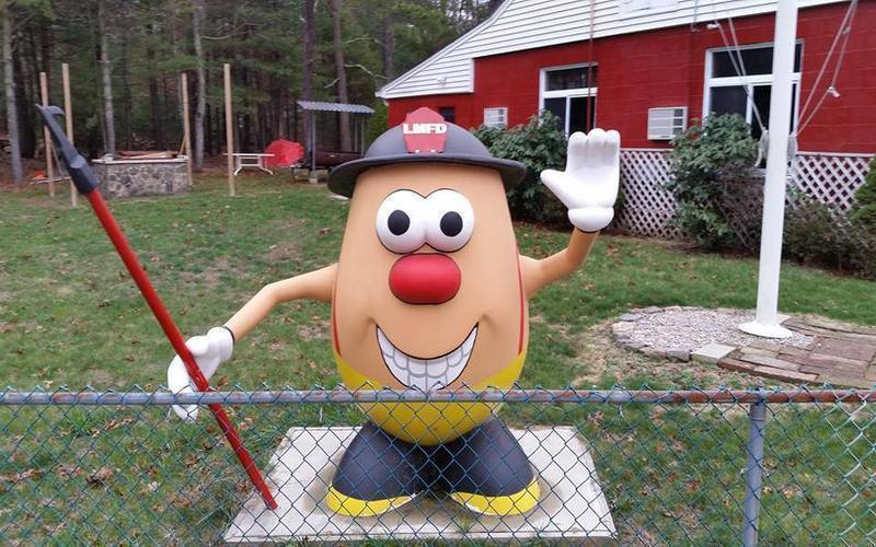 Take A Mr. Potato Head Themed Road Trip Across Rhode Island