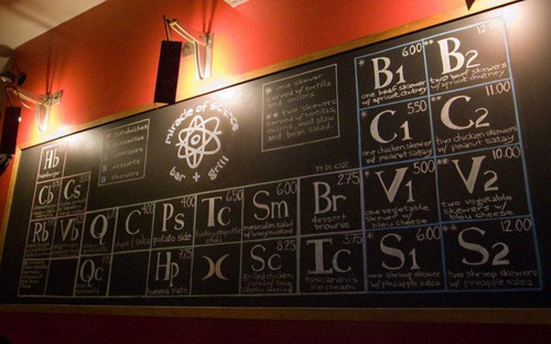 Hungry For Knowledge? Visit This Chemistry Themed Restaurant