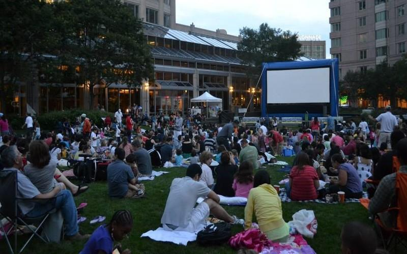 6 Places To Catch A Free Outdoor Movie In Boston This Summer