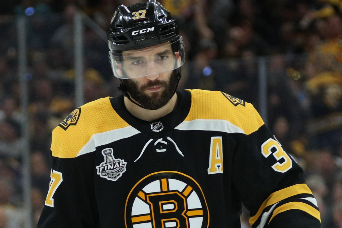 Patrice Bergeron is back!!!