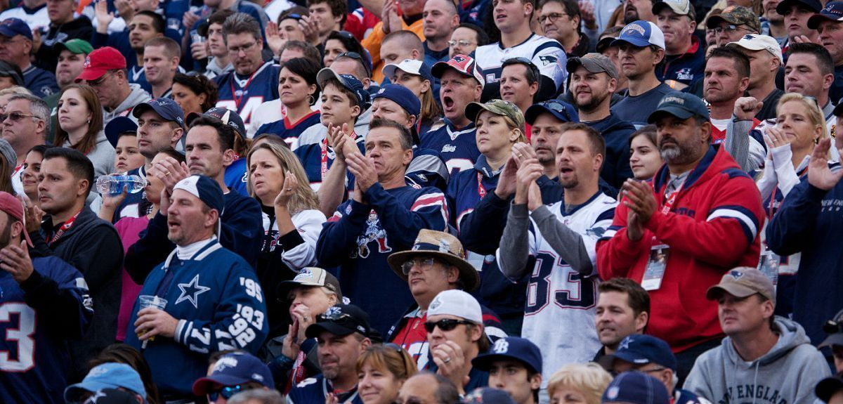 STUDY: Patriots fans are among the best in the NFL
