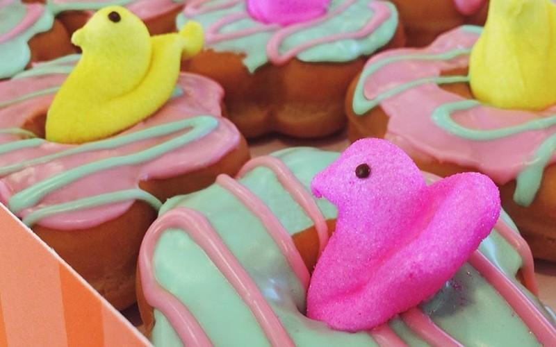 Dunkin Launches Peeps-Flavored Coffee & Donuts Just In Time For Easter