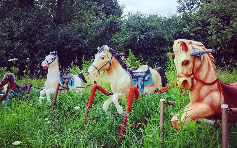 There Is A Rocking Horse Graveyard In Lincoln, MA