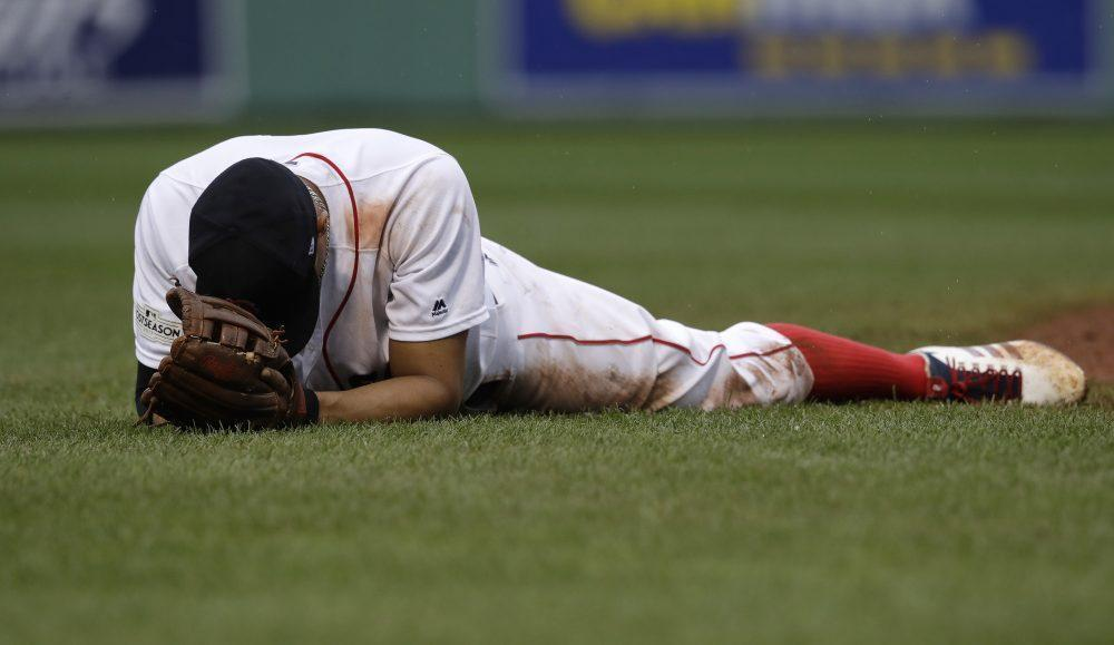 The Red Sox are falling apart