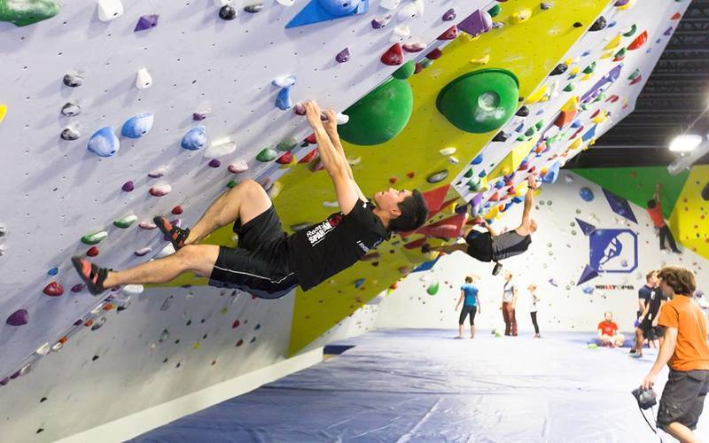 Break Out Of Your Winter Funk With Indoor Rock Climbing In Randolph