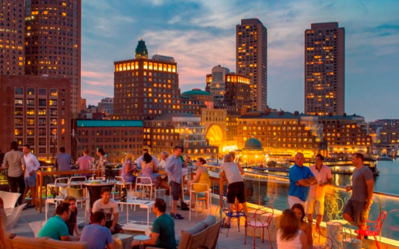 6 Rooftop Bars Where You Can Bask In The Splendor Of Spring