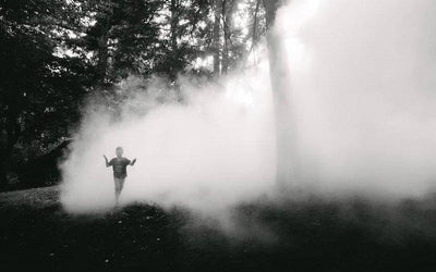 Enjoy FREE Fog Sculptures At The Emerald Necklace Park System