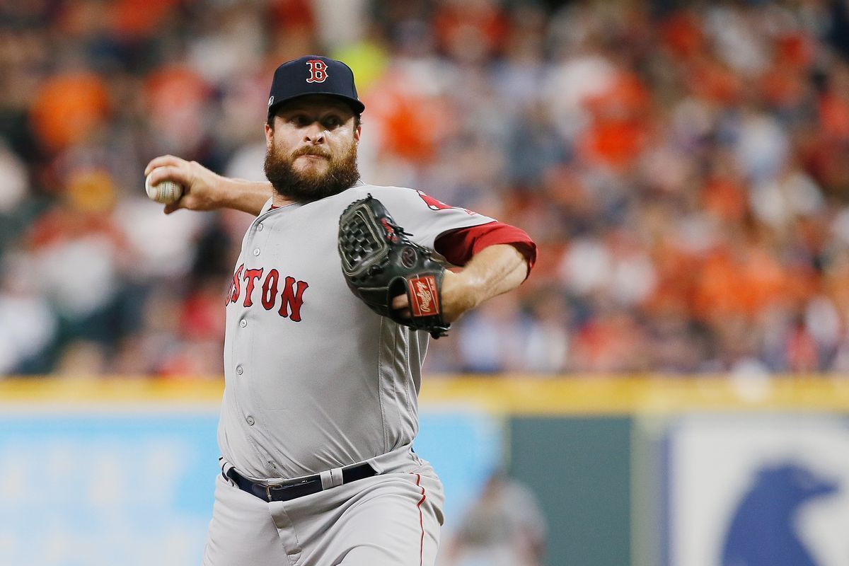 Ryan Brasier got in trouble for letting his son go to the WS