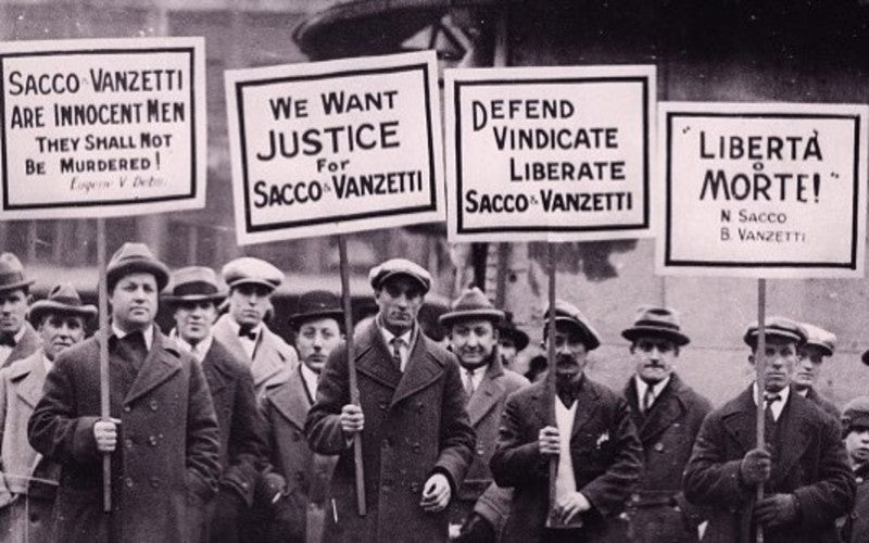It's Been 100 Years Since The Historic Case Of Sacco & Vanzetti