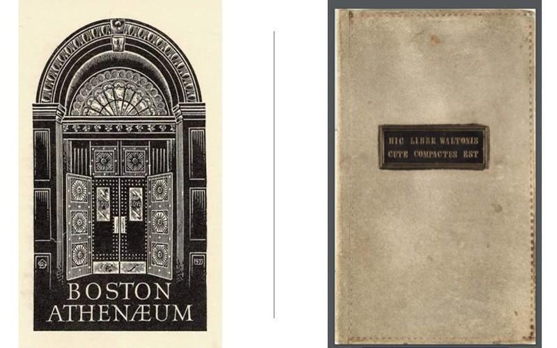 The Strange Story Of The Boston Athenaeum Skin Book