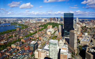 Get A Bird's Eye View Of Boston At The Skywalk Observatory