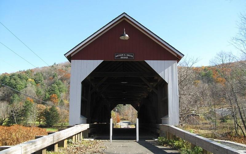 Tour Massachusetts' Remaining Covered Bridges
