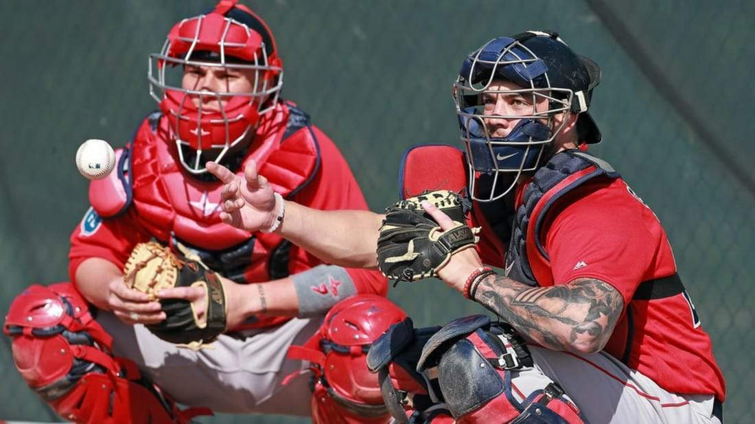 The Red Sox still have to cut one catcher