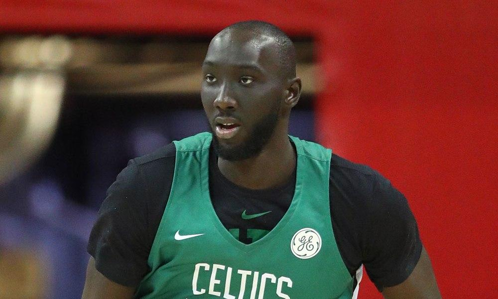Tacko Fall has a ball in G-League debut