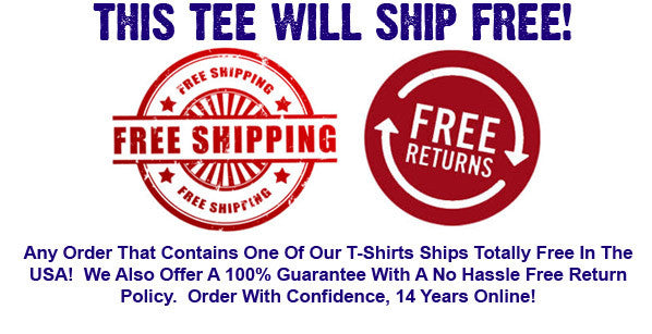 Free Retuns T-Shirts Shipping