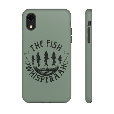 The Fish Whisperaah Tough Cell Phone Cases - Chowdaheadz