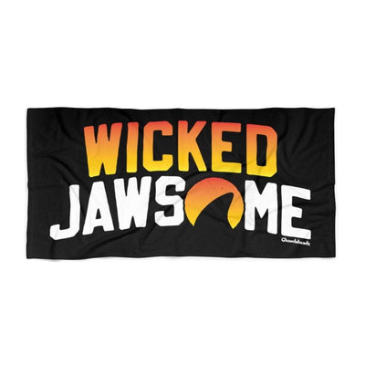 Wicked Jawsome Beach Towel - Chowdaheadz