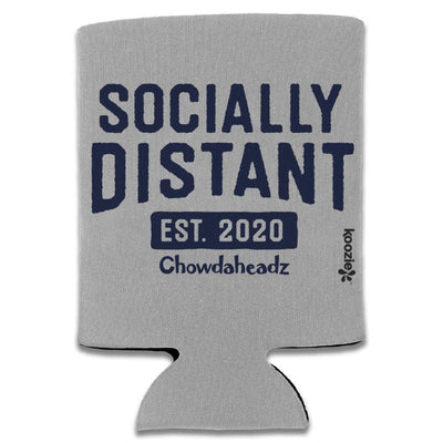 Socially Distant Collapsible Koozie - Chowdaheadz