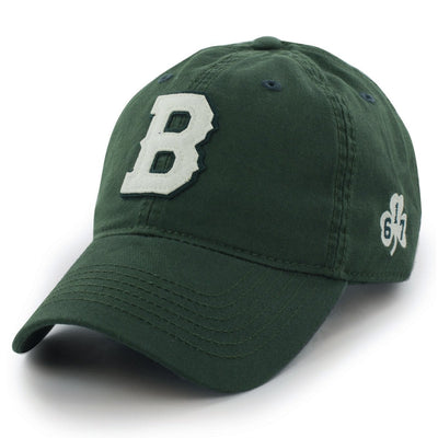 "Boston B Shamrock ""Old Timah"" Adjustable Hat - Chowdaheadz"