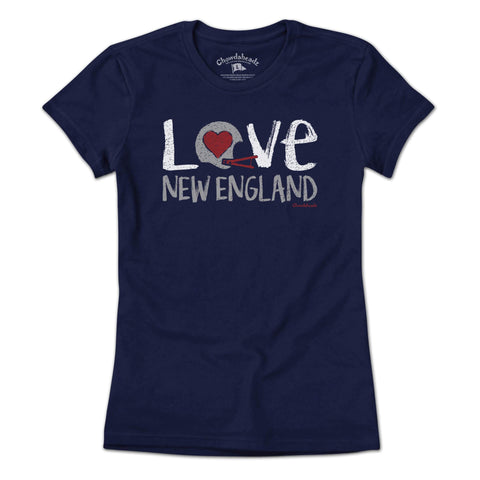 Love New England T-Shirt - Chowdaheadz