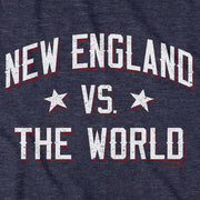 New England vs The World T-Shirt - Chowdaheadz