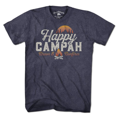 Happy Campah T-Shirt - Chowdaheadz